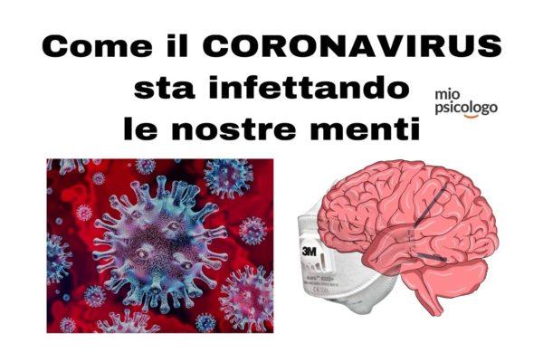 Come il CORONAVIRUS sta infettando le nostre menti