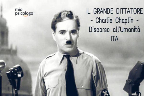 Il Discorso all'umanità di Chaplin non è mai stato così attuale